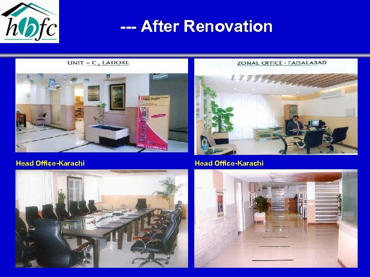 --- After Renovation Head Office-Karachi 29