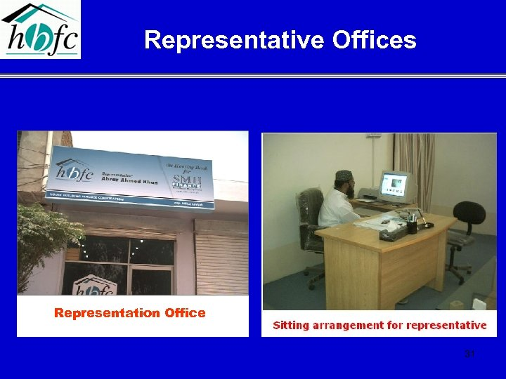 Representative Offices Representation Office 31