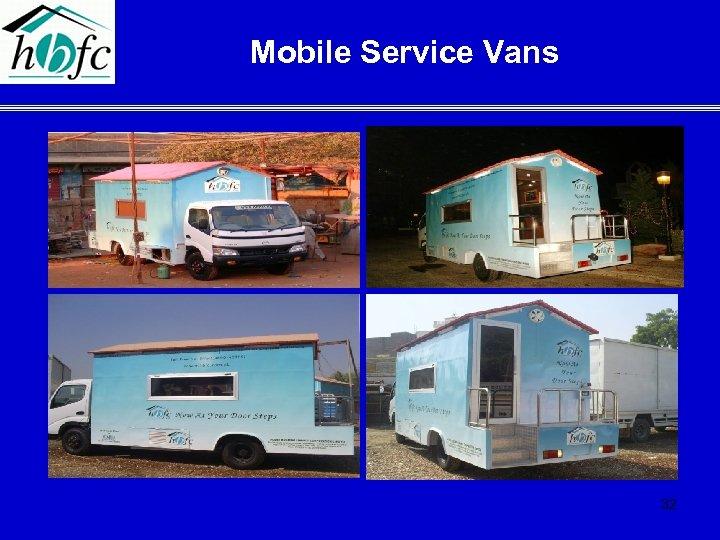 Mobile Service Vans 32