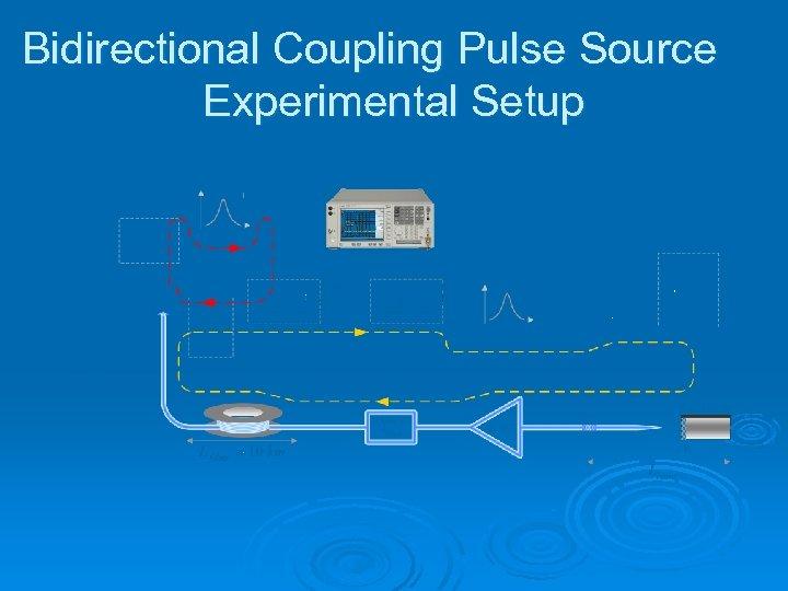 Bidirectional Coupling Pulse Source Experimental Setup