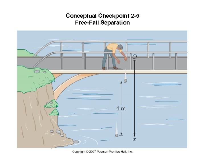Conceptual Checkpoint 2 -5 Free-Fall Separation