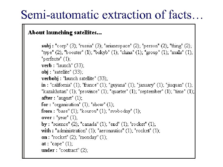 Semi-automatic extraction of facts…