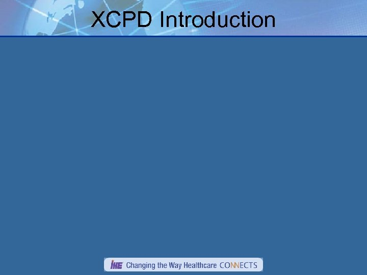 XCPD Introduction