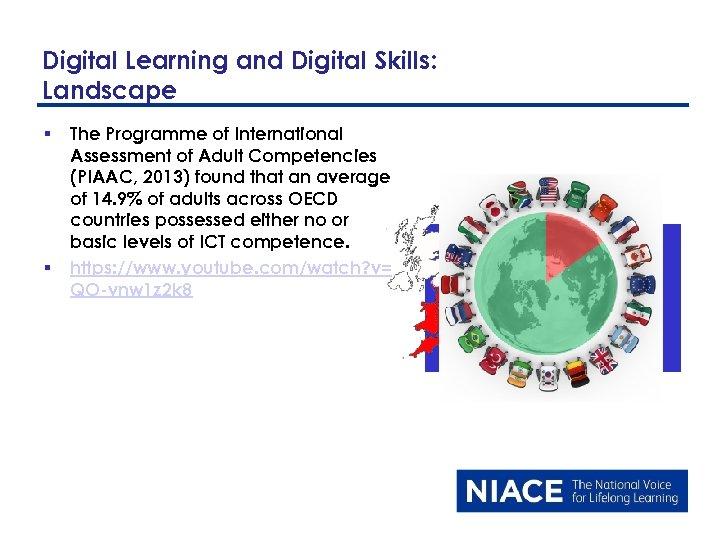 Digital Learning and Digital Skills: Landscape § § The Programme of International Assessment of