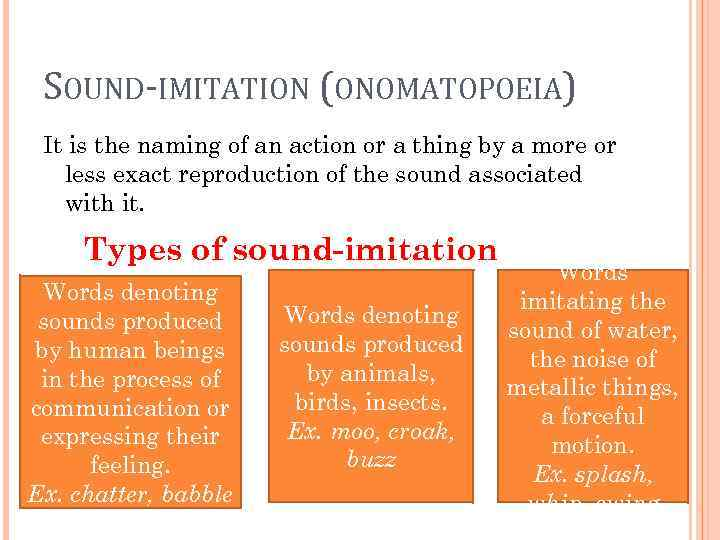 MINOR TYPES OF WORD-FORMATION Word-formation is the