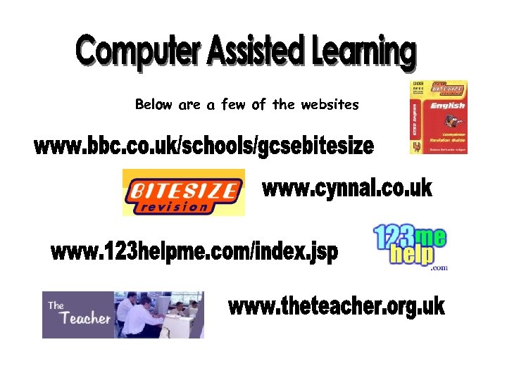 Below are a few of the websites