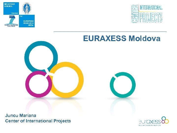 EURAXESS Moldova Juncu Mariana Center of International Projects