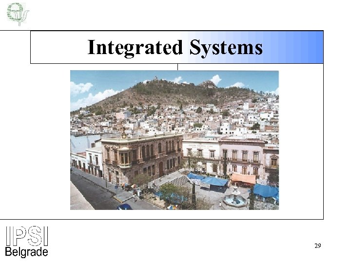 Integrated Systems 29