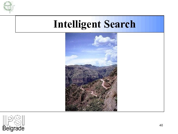 Intelligent Search 40