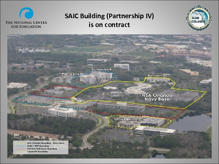 SAIC Building (Partnership IV) is on contract