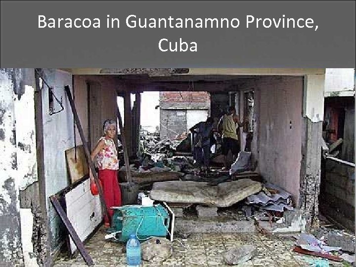 Baracoa in Guantanamno Province, Cuba