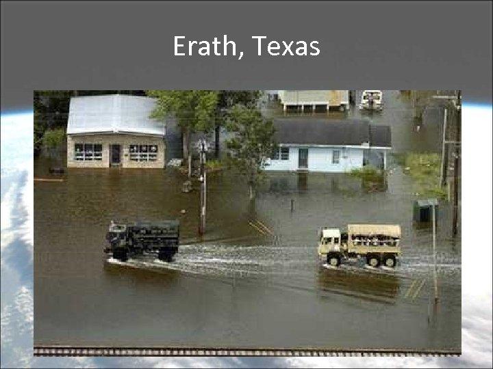 Erath, Texas