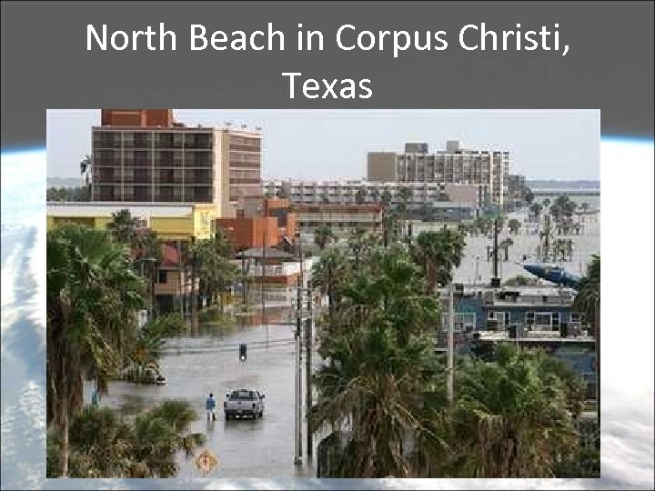 North Beach in Corpus Christi, Texas