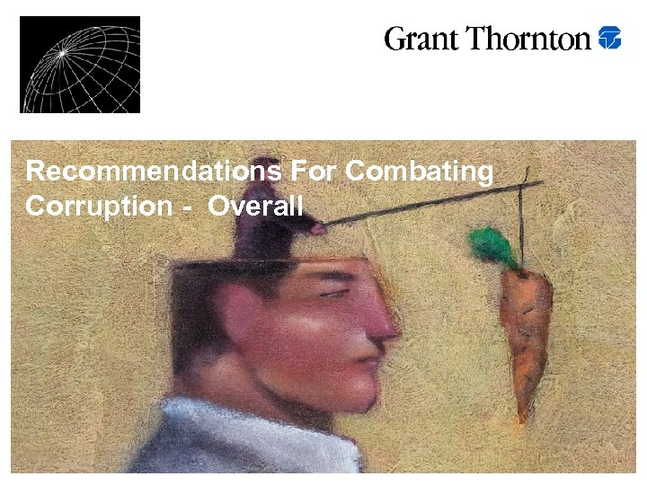 Recommendations For Combating Corruption - Overall
