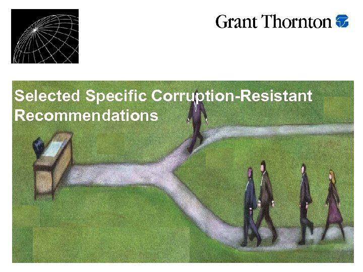 Selected Specific Corruption-Resistant Recommendations