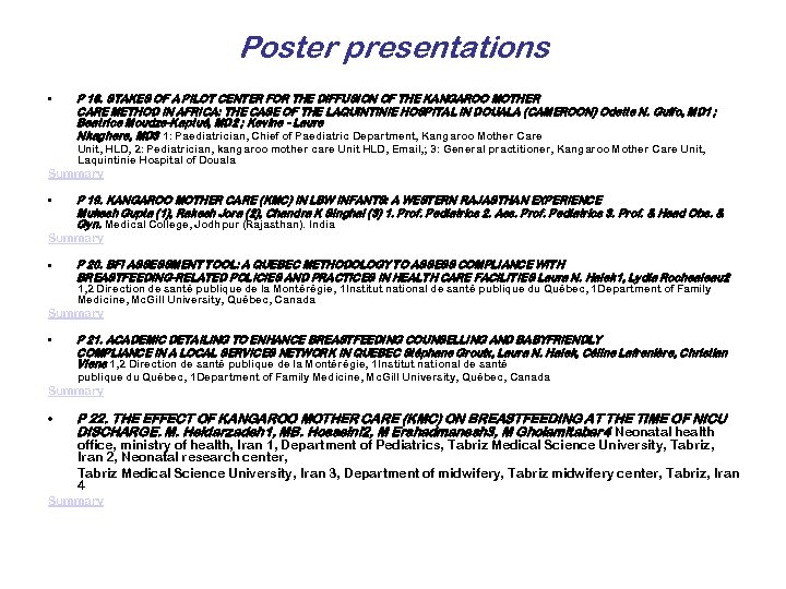 Poster presentations • P 18. STAKES OF A PILOT CENTER FOR THE DIFFUSION OF