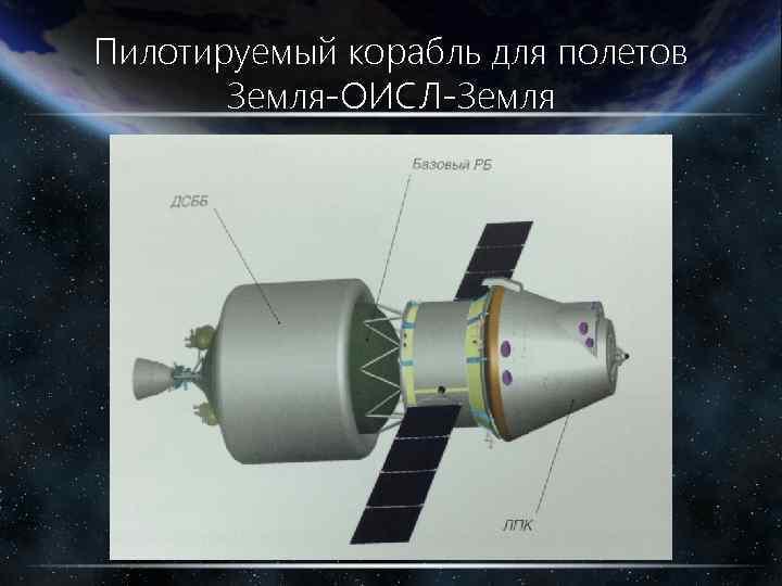 Пилотируемый корабль для полетов Земля-ОИСЛ-Земля