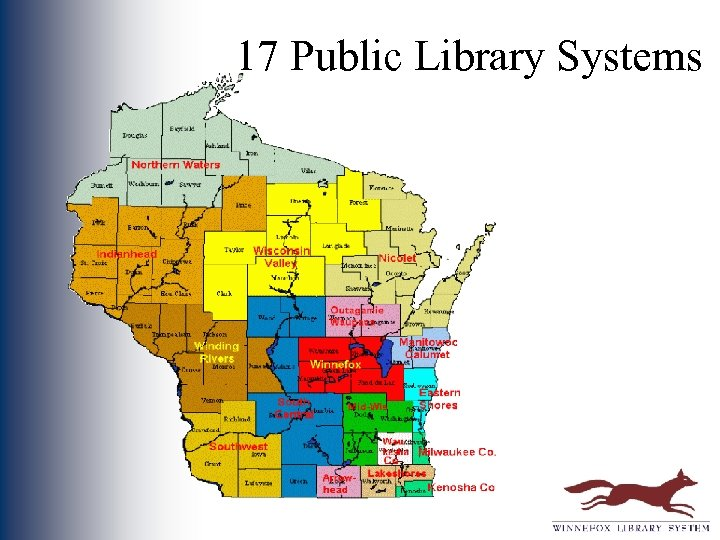 17 Public Library Systems