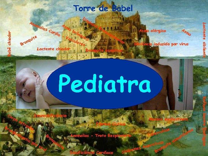 Torre de Babel Bebê chiador ias te qui n o Br Car dio sp