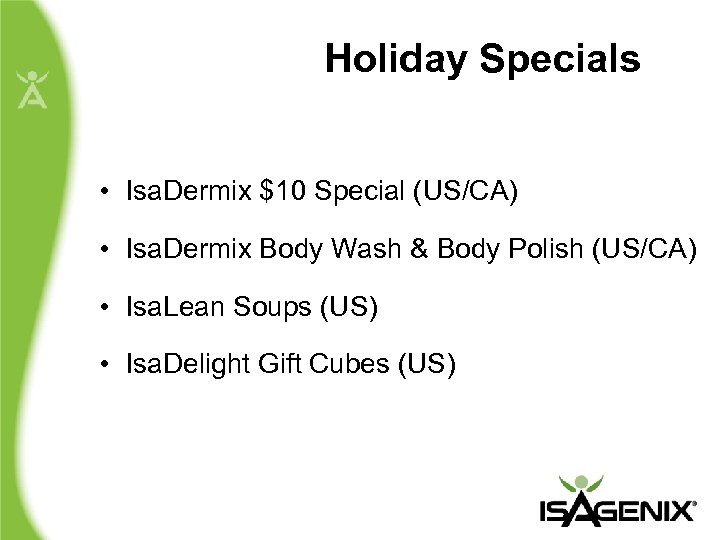 Holiday Specials • Isa. Dermix $10 Special (US/CA) • Isa. Dermix Body Wash &