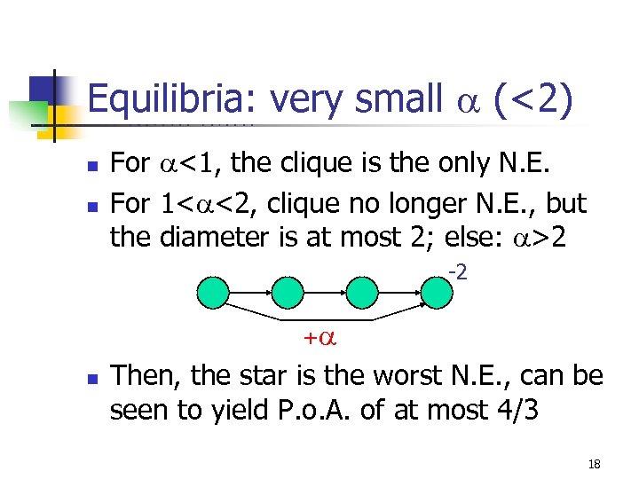 Equilibria: very small (<2) U C B E R K E L n n