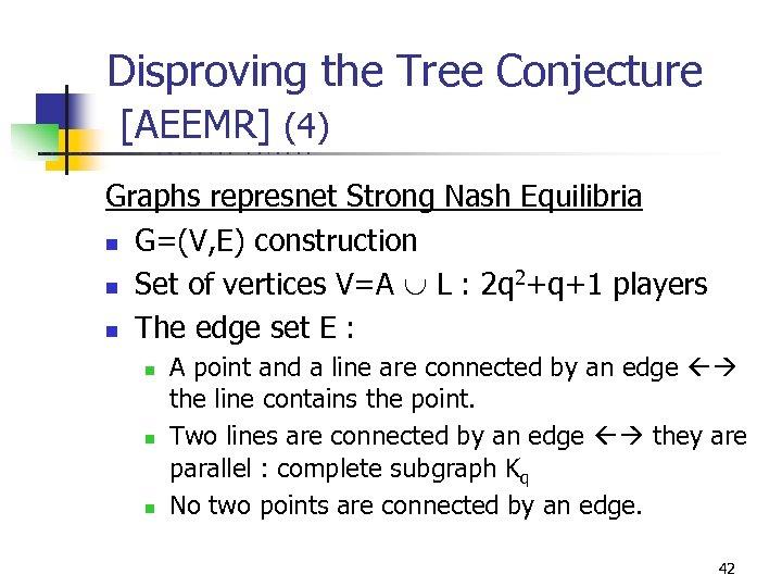 Disproving the Tree Conjecture [AEEMR] (4) U C B E R K E L