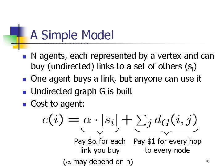A Simple Model U C B E R n n K E L E