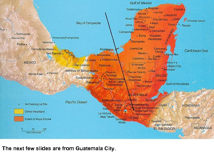 The next few slides are from Guatemala City.