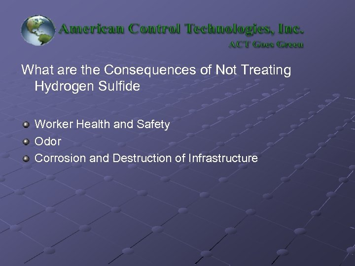 What are the Consequences of Not Treating Hydrogen Sulfide Worker Health and Safety Odor