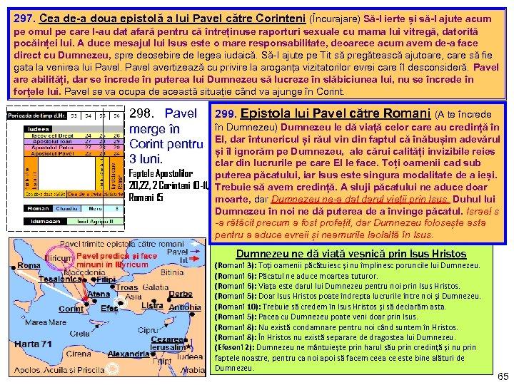 297. Cea de-a doua epistolă a lui Pavel către Corinteni (Încurajare) Să-l ierte și