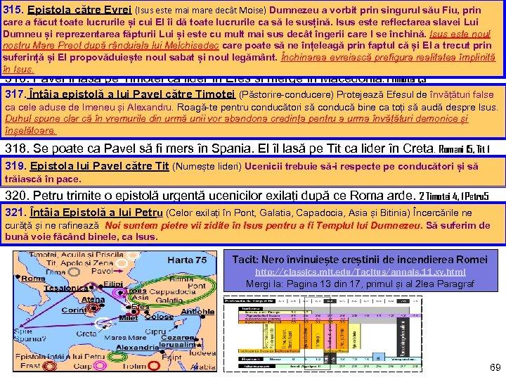315. Epistola către Evrei (Isus este mai mare decât Moise) Dumnezeu a vorbit prin