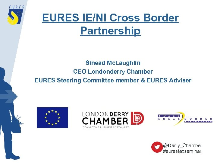EURES IE/NI Cross Border Partnership Sinead Mc. Laughlin CEO Londonderry Chamber EURES Steering Committee