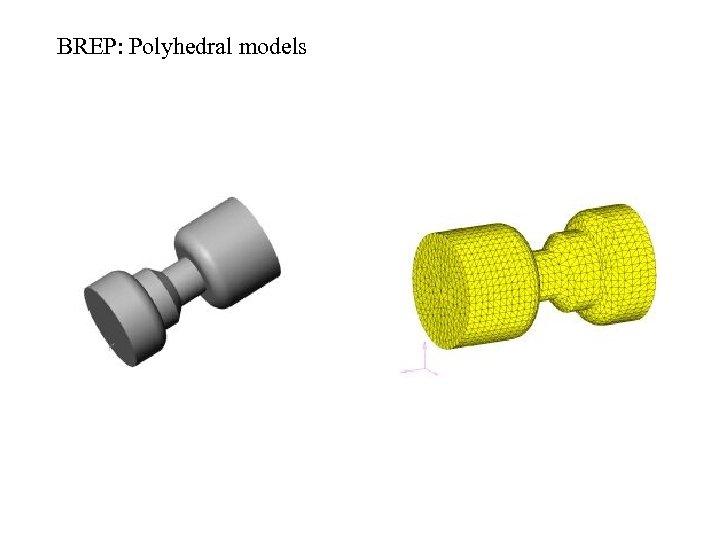 BREP: Polyhedral models