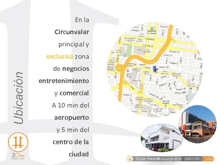 En la Circunvalar principal y Ubicación exclusiva zona de negocios entretenimiento y comercial A