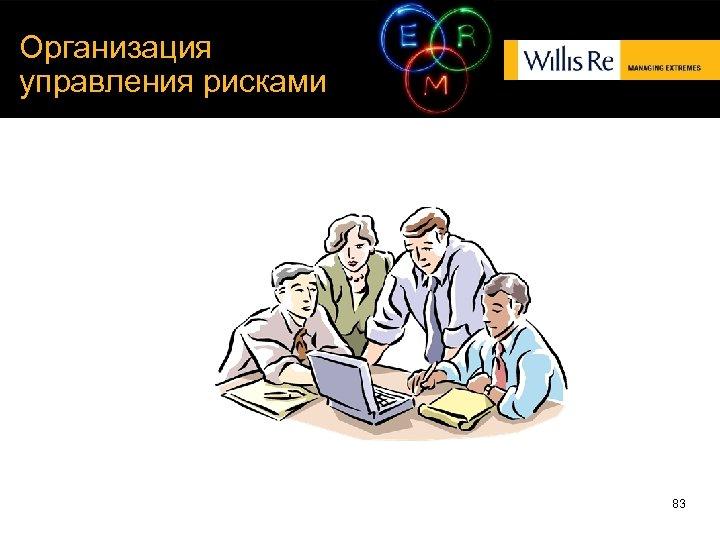 Организация управления рисками 83