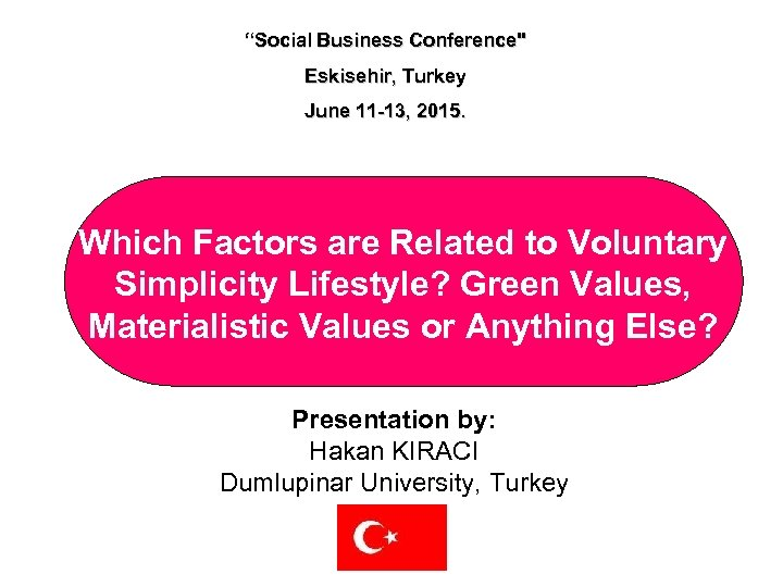 """Social Business Conference"