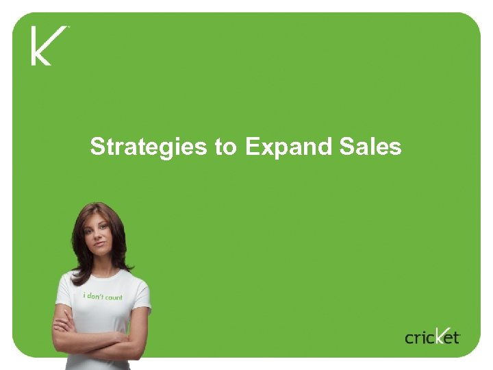 Strategies to Expand Sales