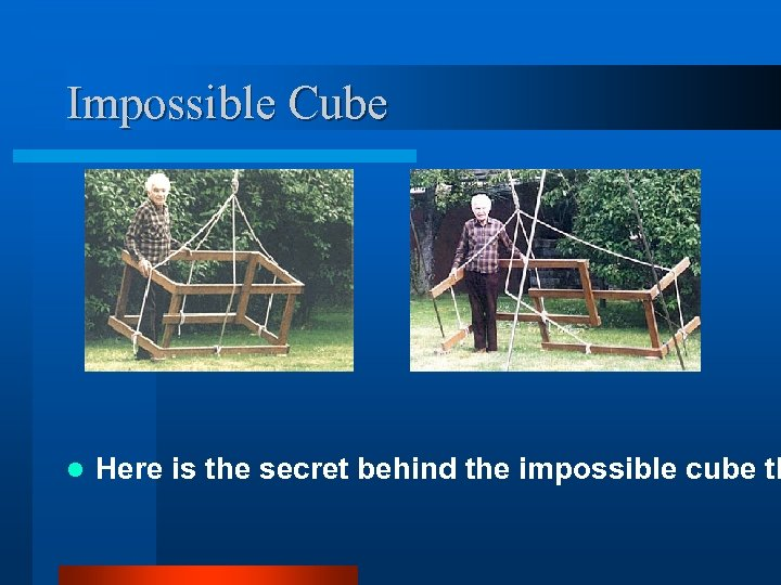 Impossible Cube l Here is the secret behind the impossible cube th