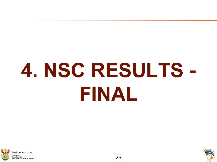 4. NSC RESULTS - FINAL 26
