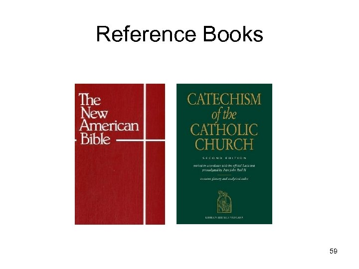 Reference Books 59