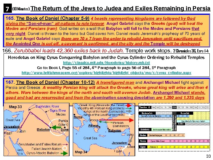 7 (10 Minutes) The Return of the Jews to Judea and Exiles Remaining in
