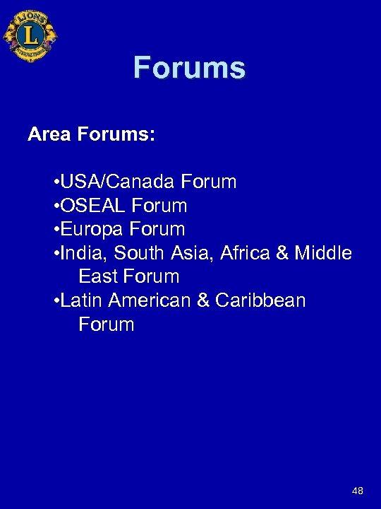 Forums Area Forums: • USA/Canada Forum • OSEAL Forum • Europa Forum • India,