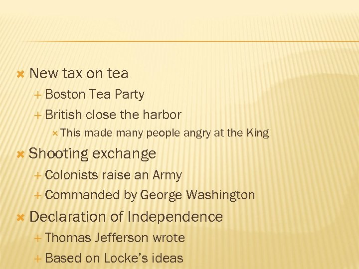 New tax on tea Boston Tea Party British close the harbor This made