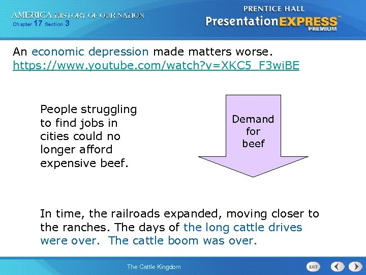 Chapter 17 Section 3 An economic depression made matters worse. https: //www. youtube. com/watch?