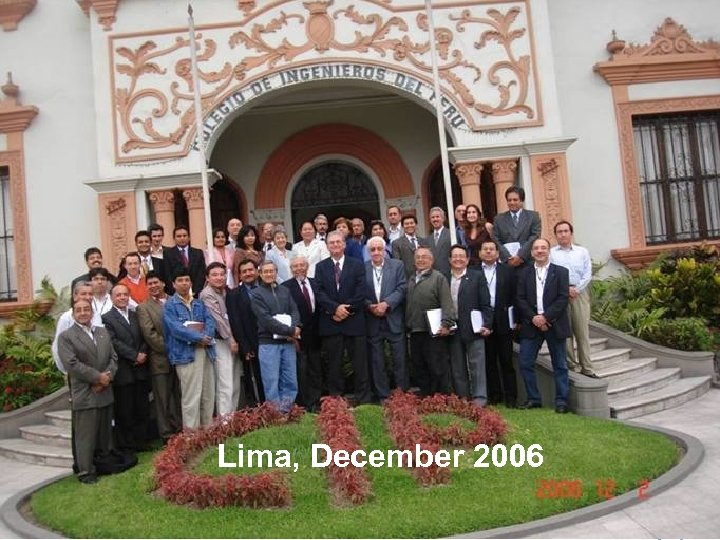 Training session for Peruvian program evaluators, December 2006 Lima, December 2006 32