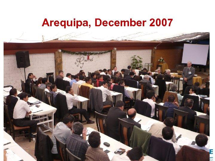 Arequipa, December 2007 34
