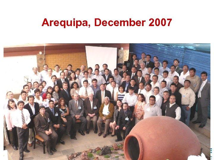 Arequipa, December 2007 35