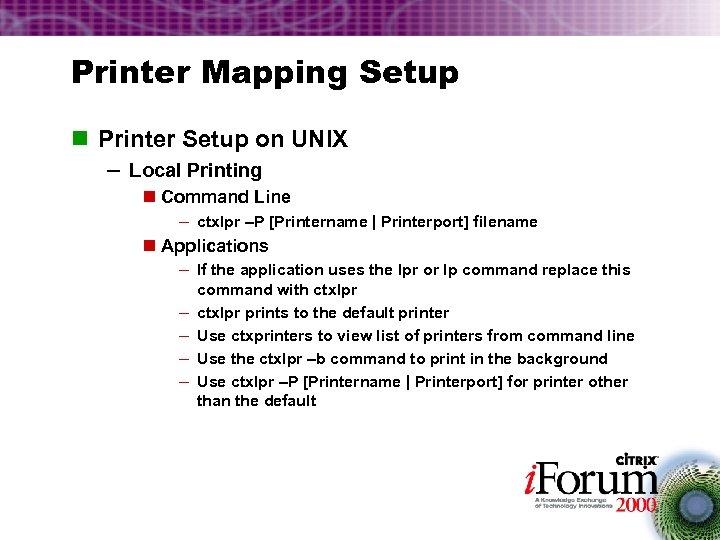Printing Fundamentals Vinny Sosa Kevin Cox Americas
