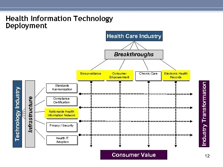 Health Information Technology Deployment Health Care Industry Breakthroughs Chronic Care Electronic Health Records Industry
