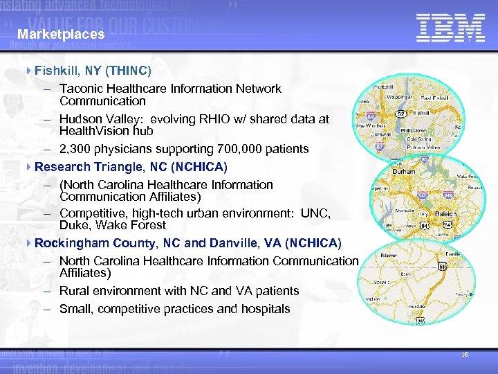 Marketplaces 4 Fishkill, NY (THINC) - Taconic Healthcare Information Network Communication - Hudson Valley: